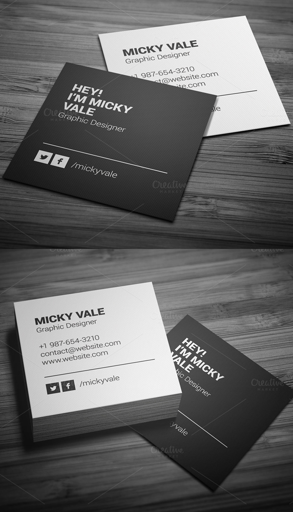 business cards psd templates design graphic design junction. Black Bedroom Furniture Sets. Home Design Ideas