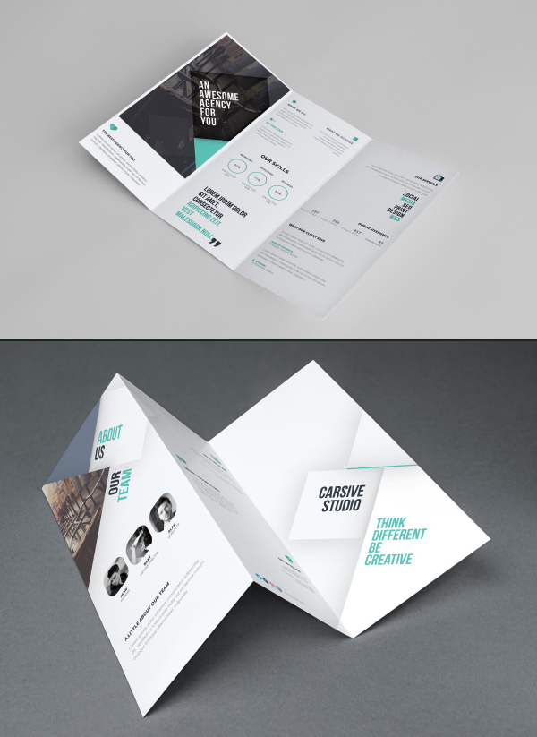 brochure design mockup - 50 free branding psd mockups for designers freebies