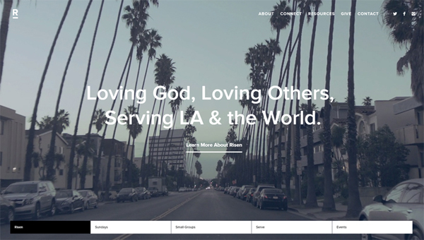 parallax scrolling WP websites