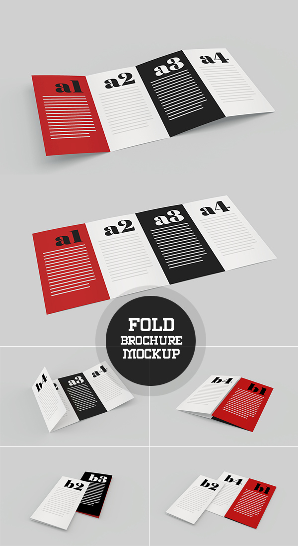 brochure mockup template - new free psd mockup templates for designers 25 mockups