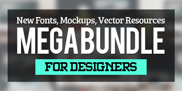 Brand New Fonts, Effects and Presentation Mockups for Designers