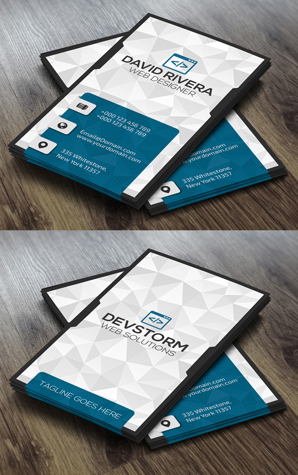 25 best creative business cards for graphic designers graphics modern business card reheart Image collections