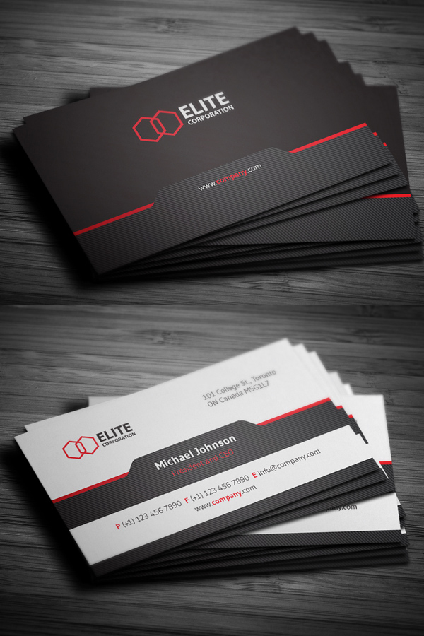 25 best creative business cards for graphic designers graphics simple and clean business card reheart Gallery