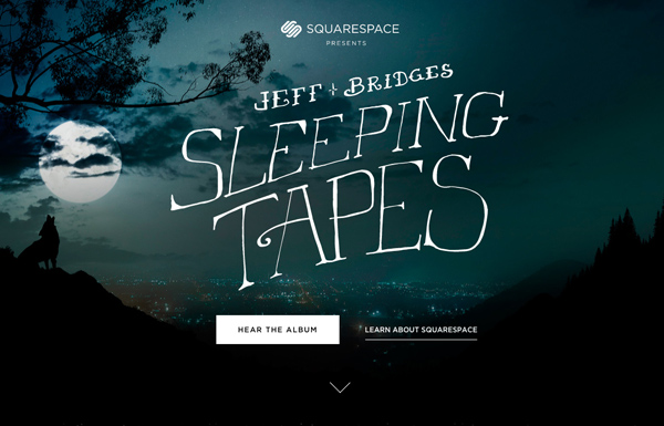 One Page Websites – 42 New Web Examples - 10