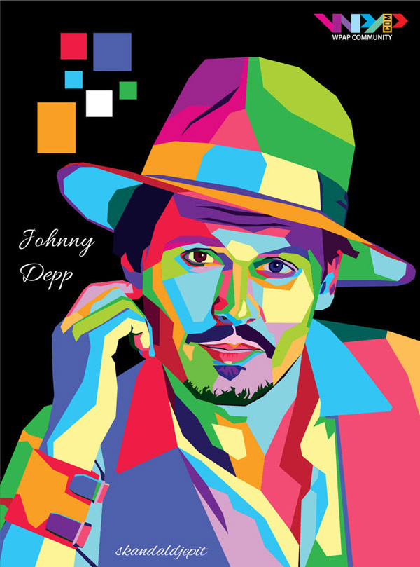 Johnny Depp WPAP by skandaldjepit