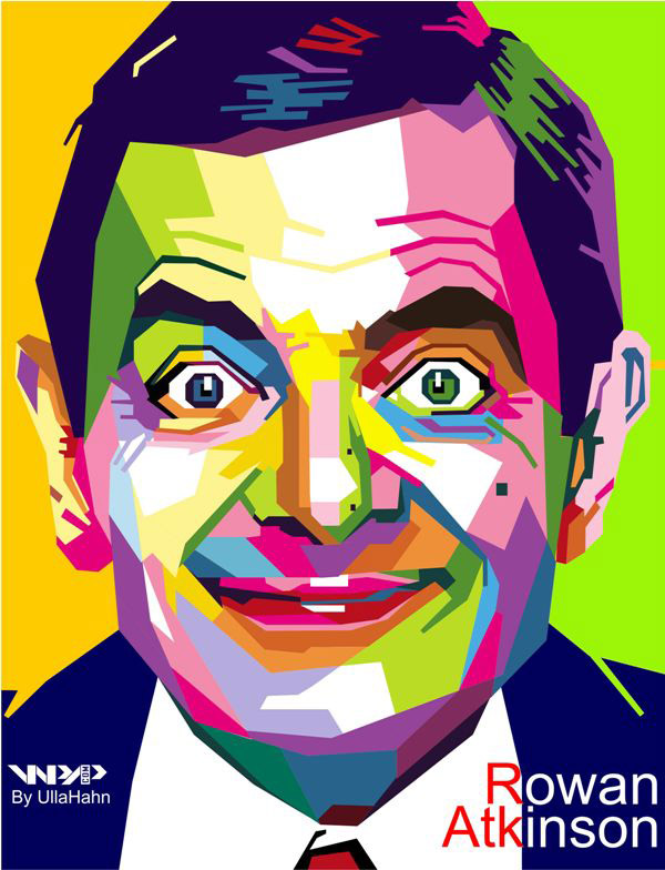 Rowan Atkinson In WPAP by ullahahn