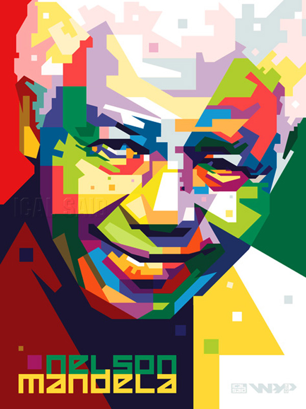 Nelson Mandela in WPAPby icalsaid