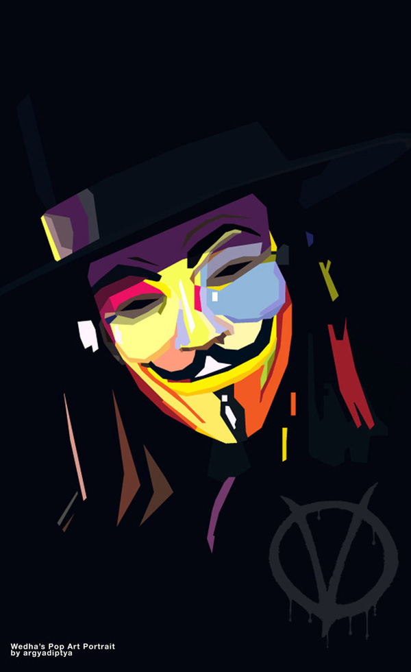 V for Vendetta by Musashigyo