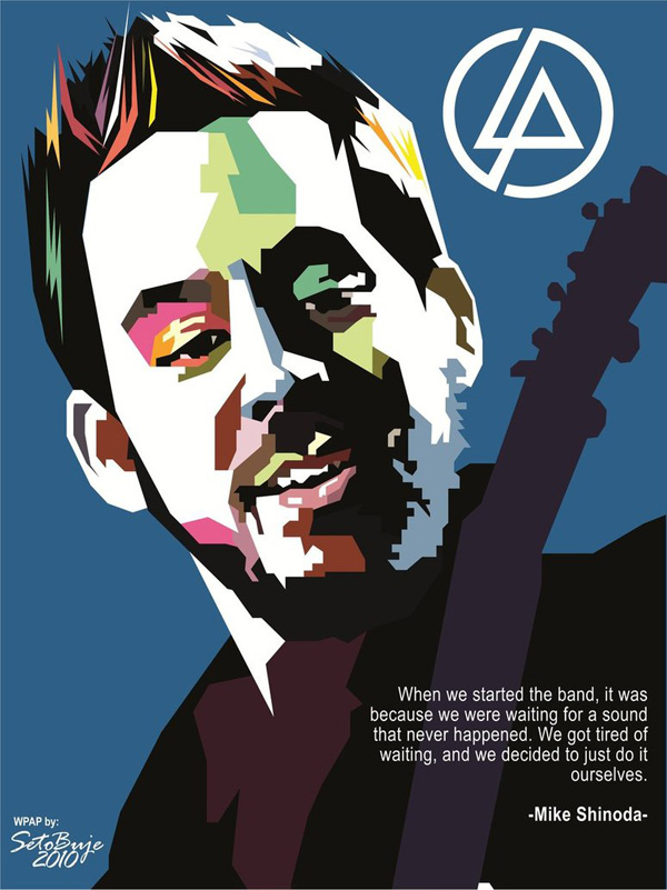 Mike Shinoda in WPAP by setobuje