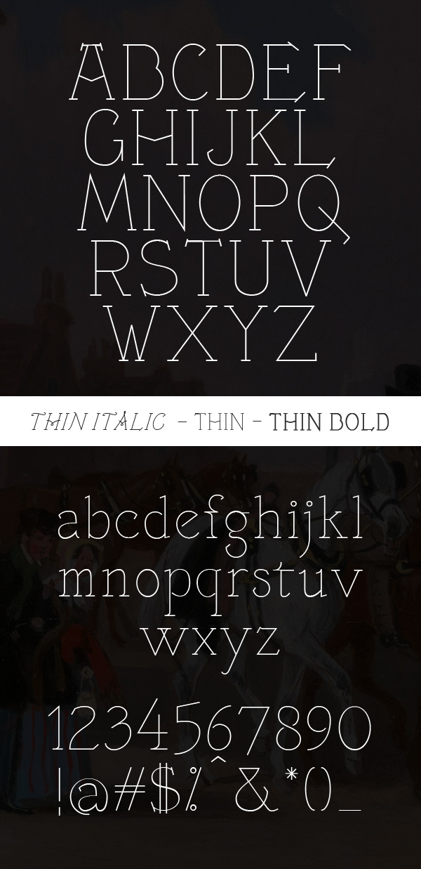 Victorianna font letters