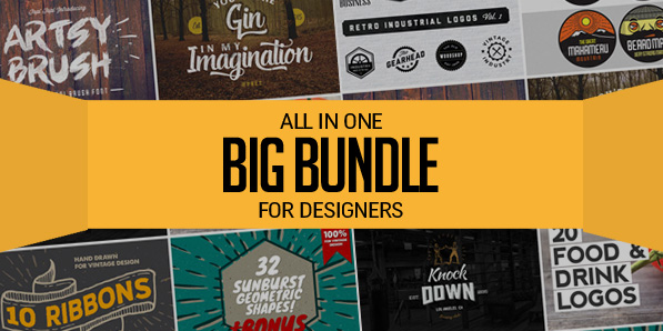 All in One – Big Bundle for Designers