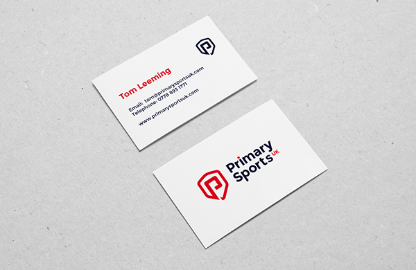 Primary Sports UK Business Card