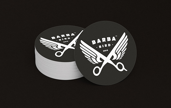 Barba Bird Identity Business Card