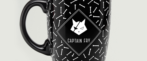 Captain Fry corporate Identity Logo Design
