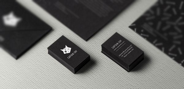 Captain Fry corporate Identity Business Card