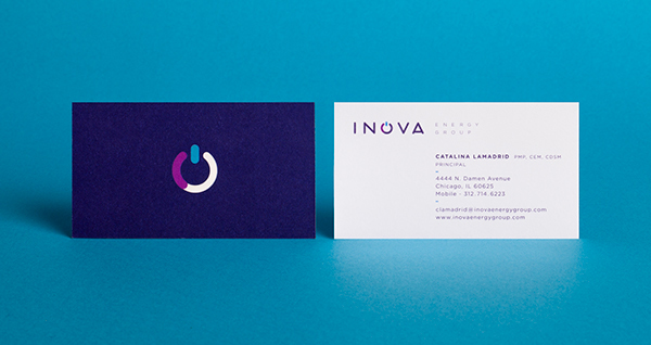 Inova Energy Group Business Card