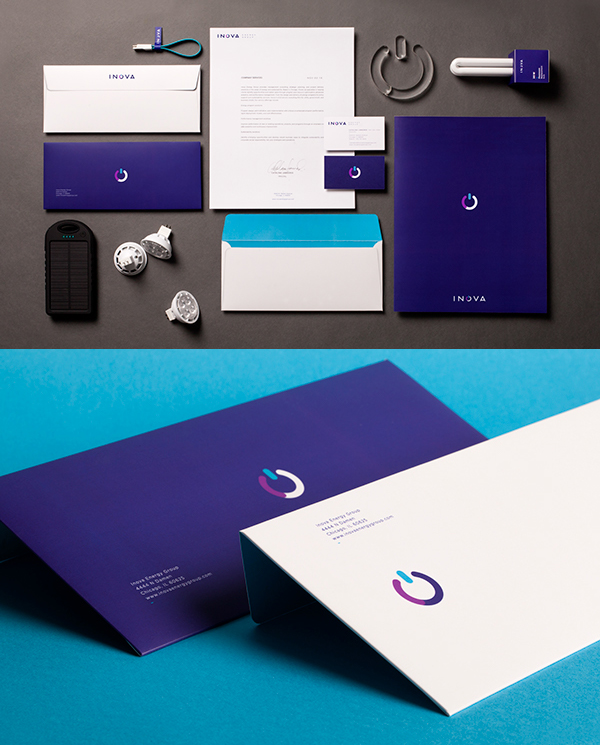 Inova Energy Group Stationery Items