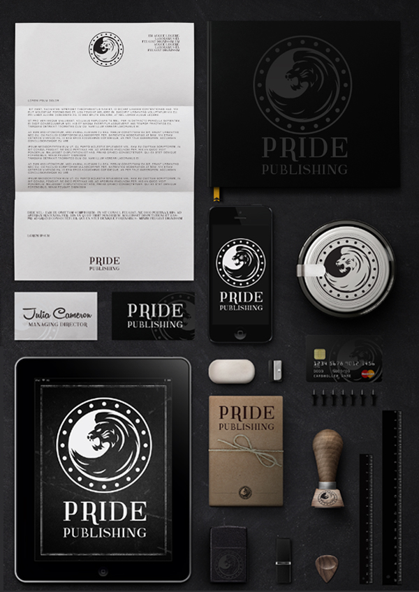 Pride Publishing Stationery Items