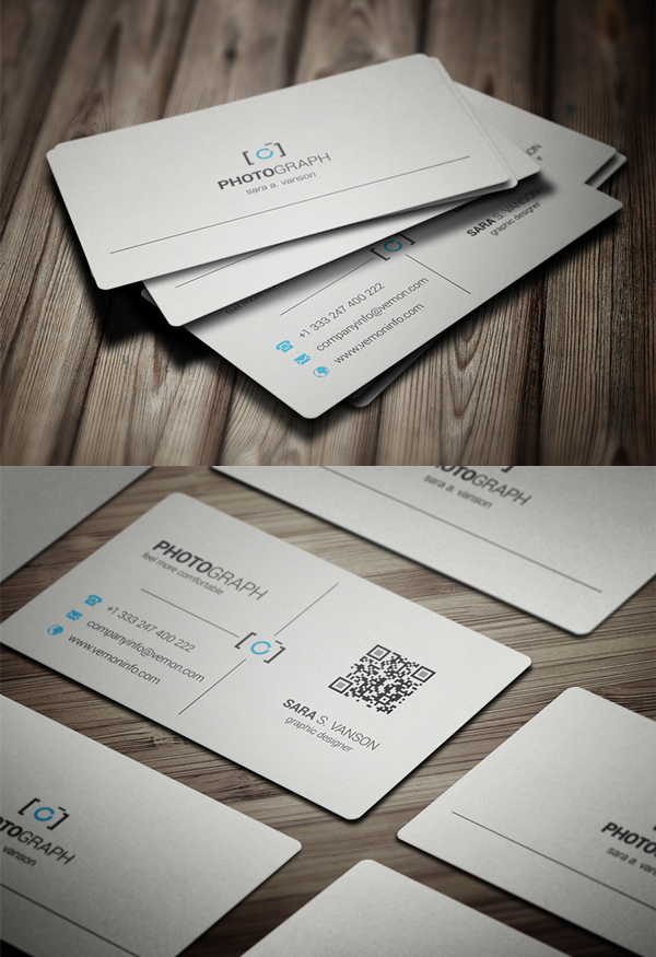19 Modern Designs Business Cards PSD Templates | Graphics Designs ...