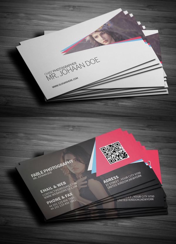 corporate creative business card psd templates design graphic design junction. Black Bedroom Furniture Sets. Home Design Ideas