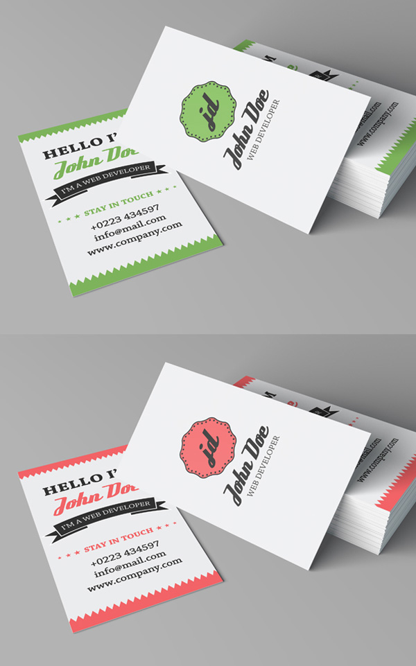 20 Best Modern Corporate Business Cards Designs | Graphics Design ...