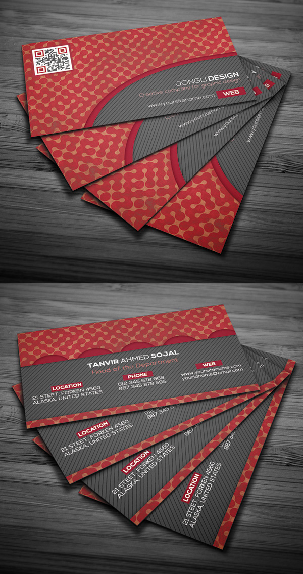 Free Old Style Business Card Template