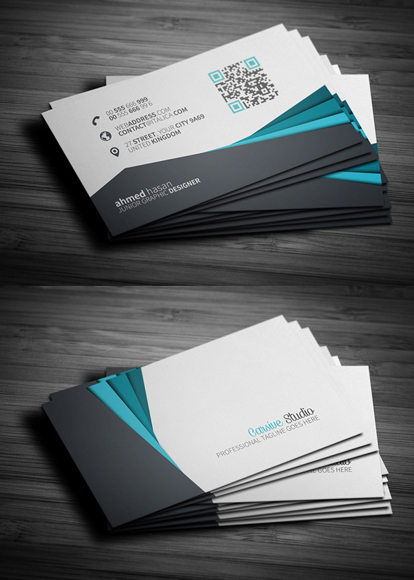 Free Business Cards PSD Templates Mockups