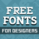 Post Thumbnail of 18 Fresh Free Fonts for Designers