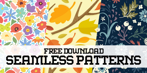 Pattern Design – 27 Seamless Free Vector Patterns