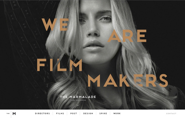 40 Fresh Award Winning Websites for Inspiration - 20