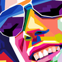 Post Thumbnail of 25 Creative WPAP Art Portraits & Tutorials