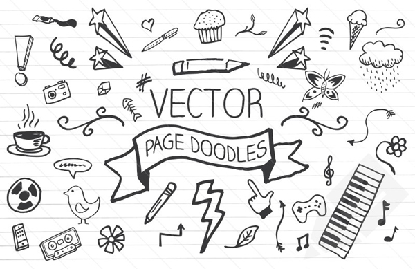 Vector Page Doodles