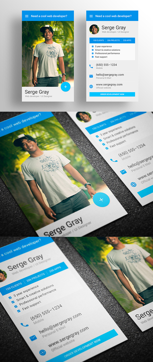 Creative Business Cards Design Examples to Inspire You
