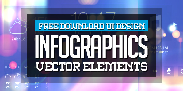 Free Infographic Vector Graphics and Vector Art for UI Design