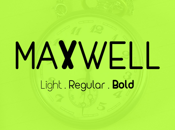 MAXWELL Free Font for Designers
