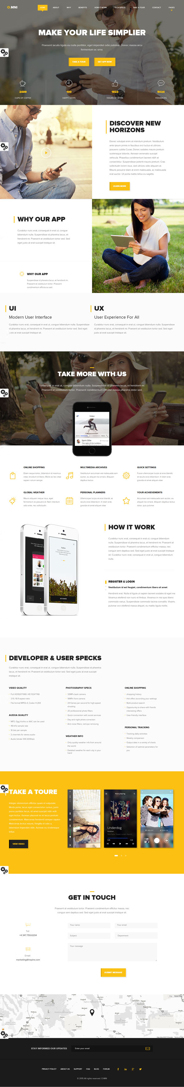 12 Amazing Creative Responsive HTML5 & CSS3 Templates | HTML5 & CSS3 ...