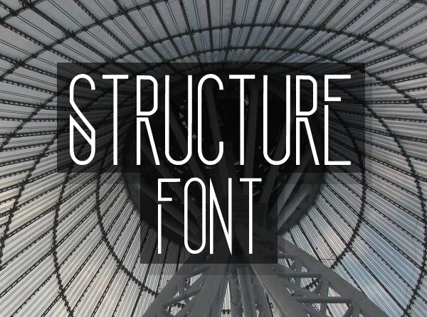 Structure Free Font