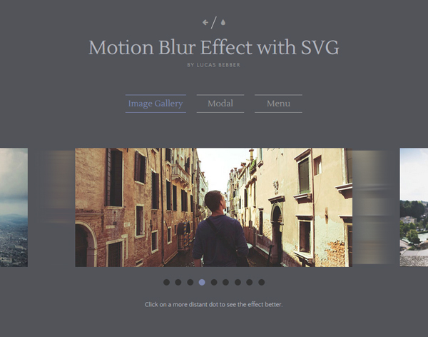 Motion Blur Effect with SVG
