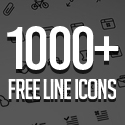 Post Thumbnail of 1000+ Free Outline Icons for UI Designers