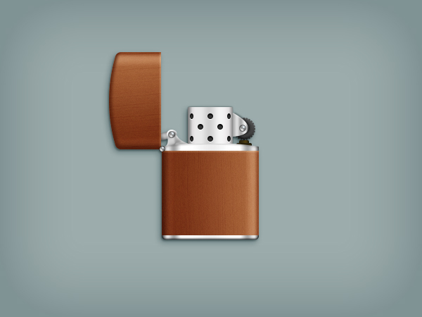 Create a Zippo Lighter in Adobe Photoshop