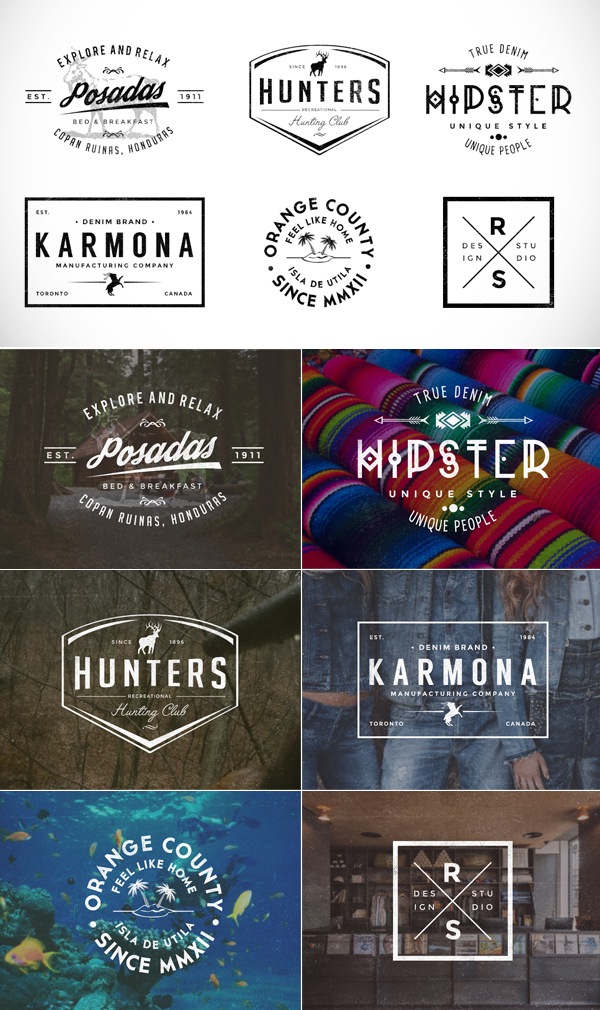 Free 6 PSD Badges