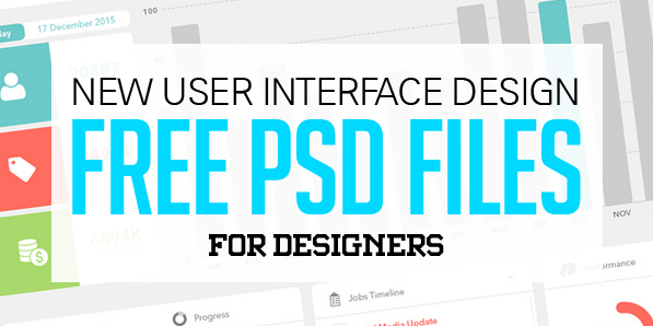 25 New Free Photoshop PSD Files for Designers