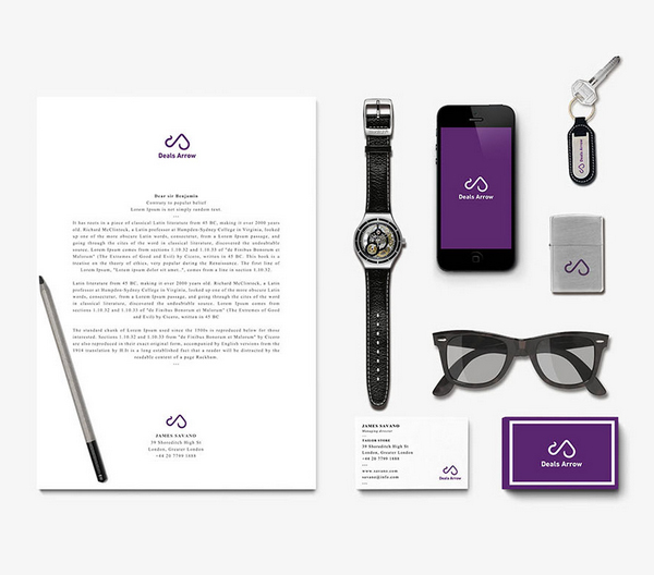 Deals Arrow-Brand Identity Branding