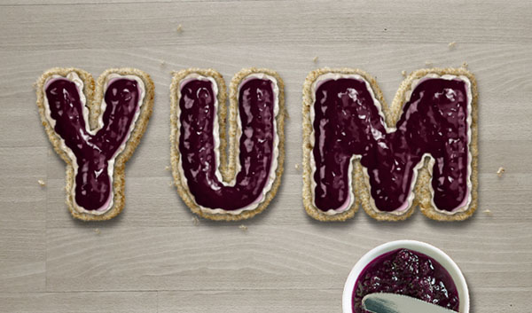 Create a Marvelously British Scone Text Effect in Adobe Photoshop