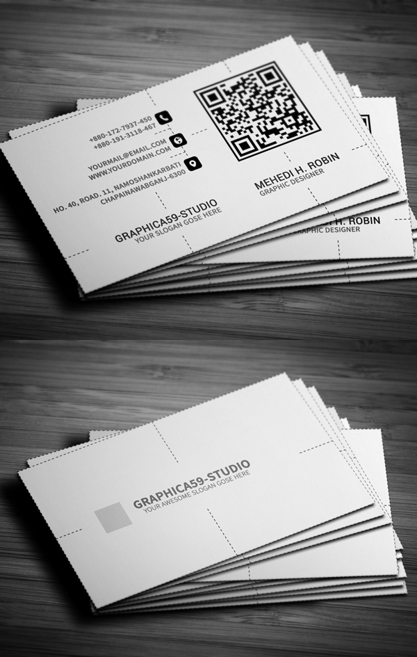 Business Cards Design: 50+ Amazing Examples to Inspire You - 27