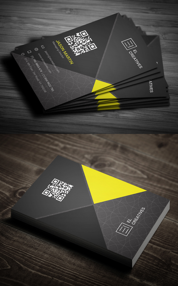 Business Cards Design: 50+ Amazing Examples to Inspire You - 37