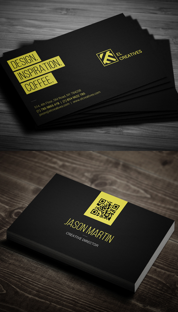 Business Cards Design: 50+ Amazing Examples to Inspire You - 38