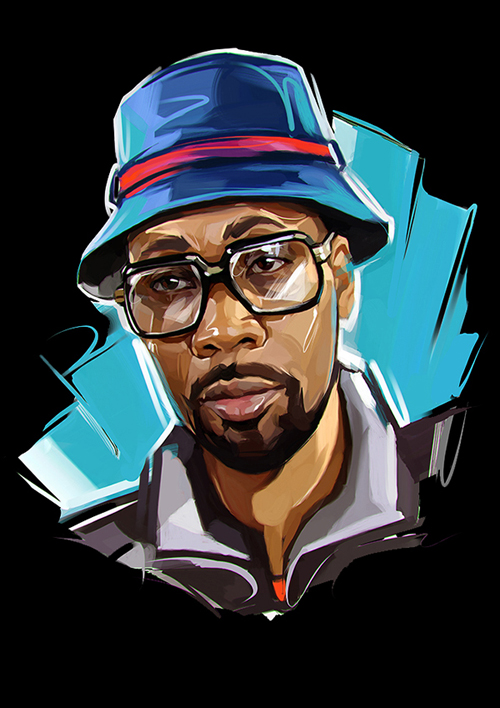 Rap Stars illustrated by Viktor Miller-Gausa