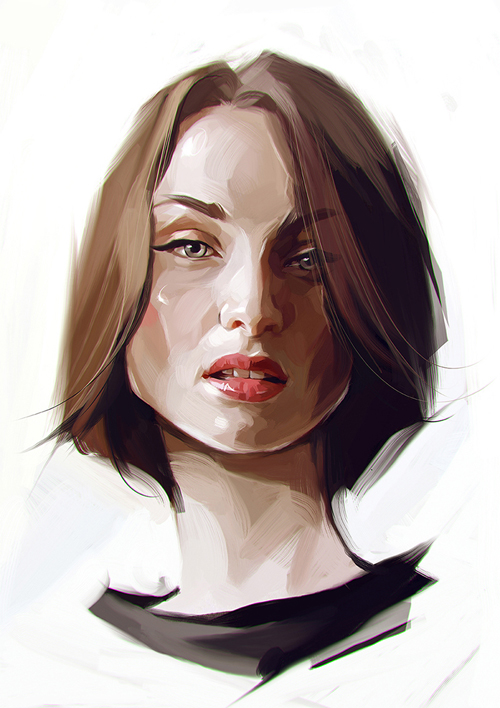 Creative Portrait Illustrations by Viktor Miller-Gausa