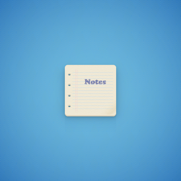 Create a Notes Icon in Adobe Illustrator